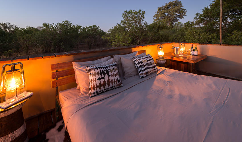 Savuti's Star Bed sleep-out is a once-in-a-lifetime safari experience