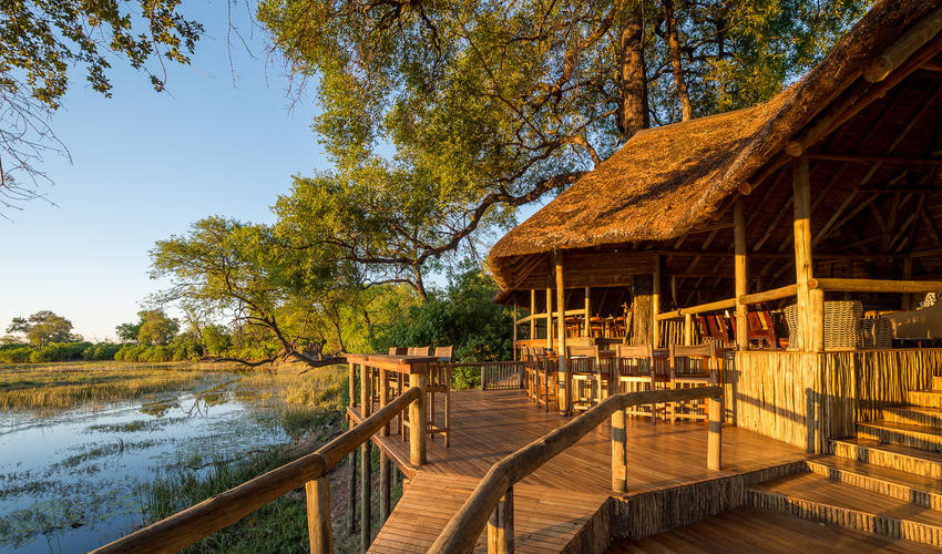 Savuti Camp is situated in the private Linyanti Concession along the Savute Channel
