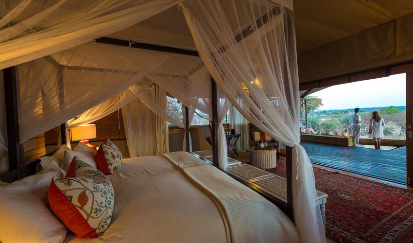 Luxurious Toka Leya tent