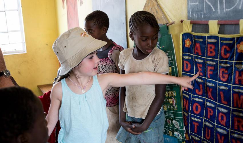 Livingstone school visit