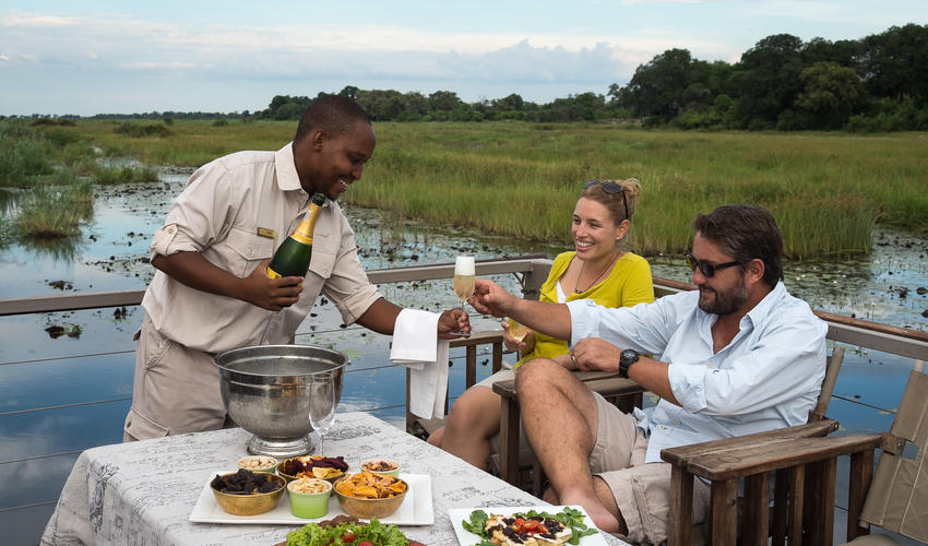 Celebrate in style on board the Queen Silvia barge (seasonal, dependent on water levels)