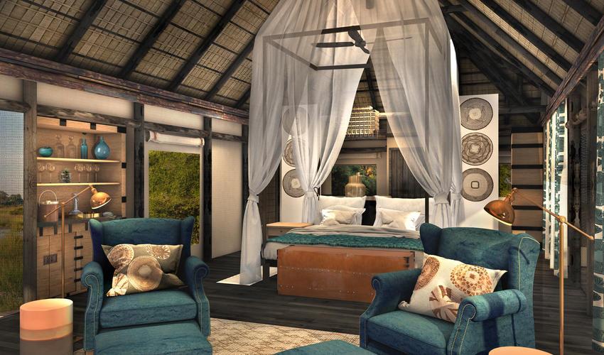 Artist Impression | Guest tent interior