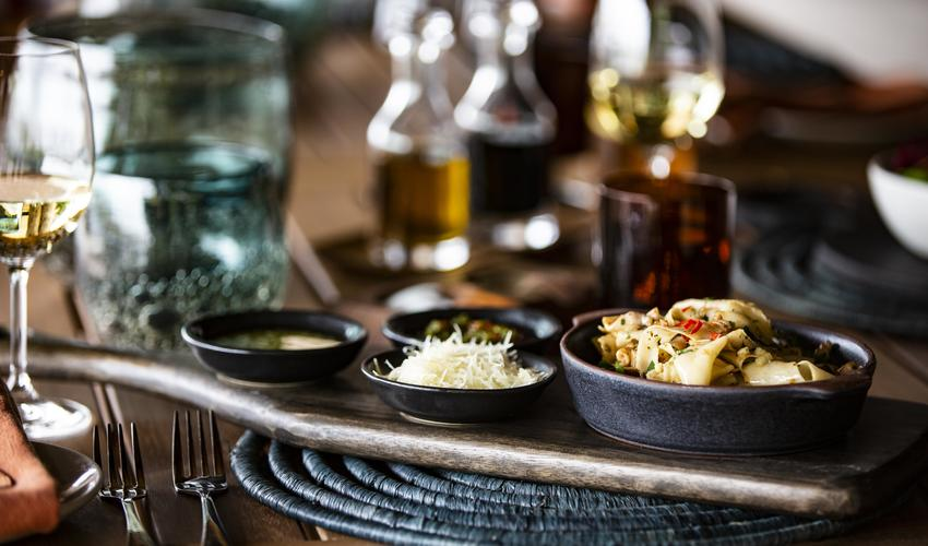 Menus are redesigned to complement every safari season