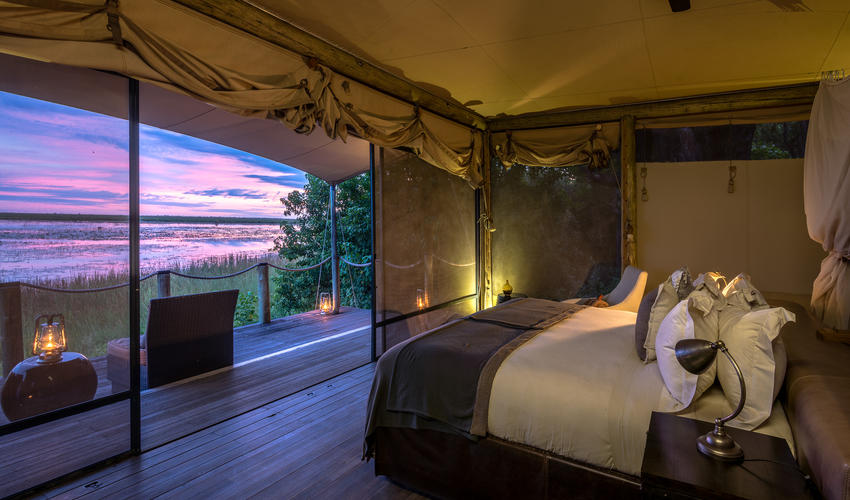 Guest room overlooking Osprey Lagoon