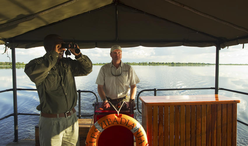 Cruising the Zibadianja Lagoon