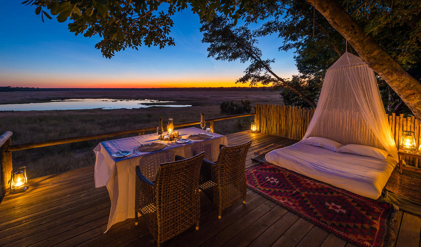 Sleep under the stars at Madison Pan