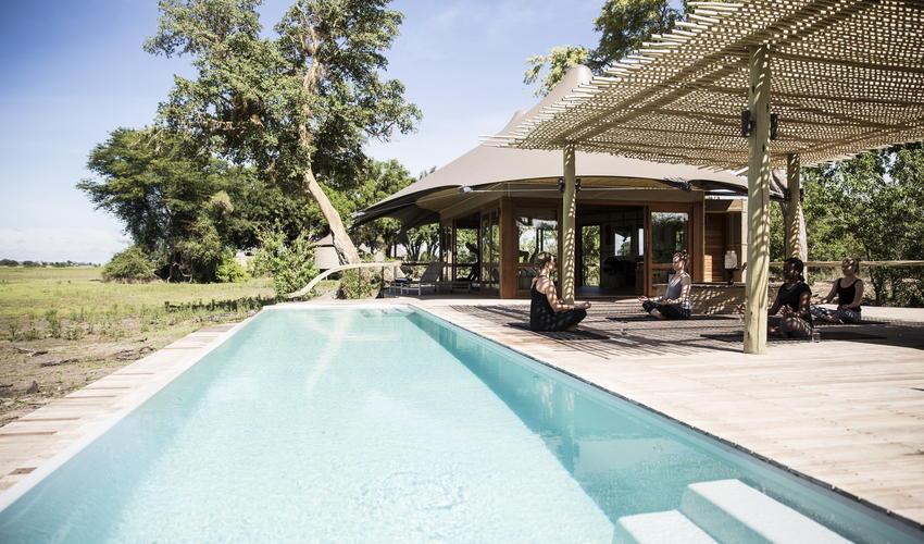 The popular lap pool