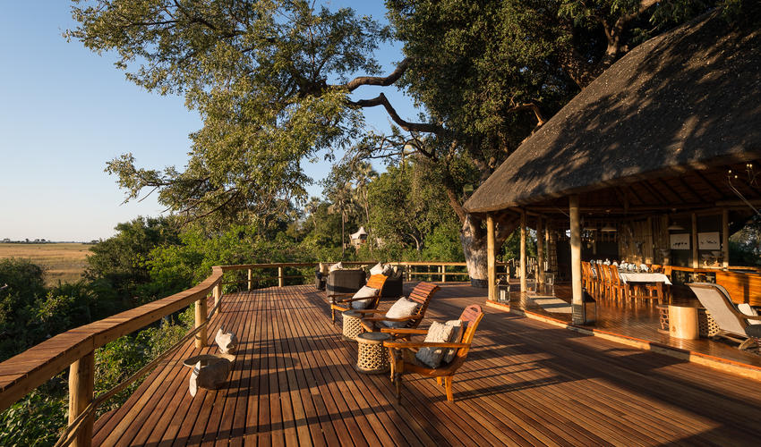 Enjoy the view in the shade of the mangosteen trees