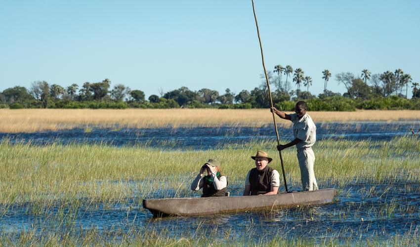 Mekoro boating