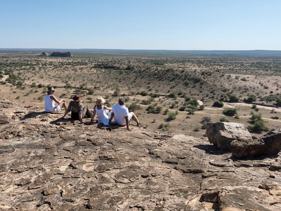 Archäologische Ruinen machen exquisite Sundowner Stopps
