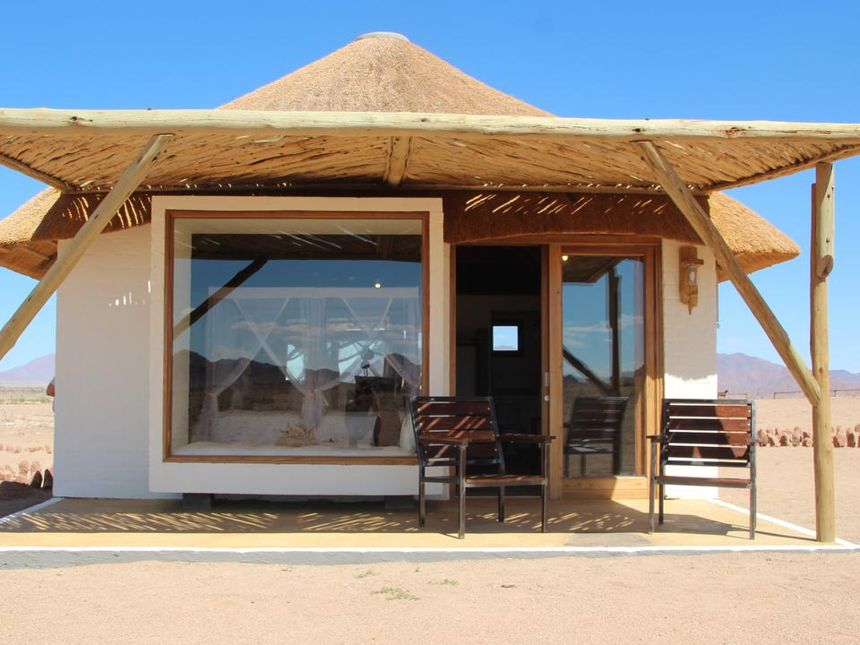 Gastzimmer mit privater Terrasse