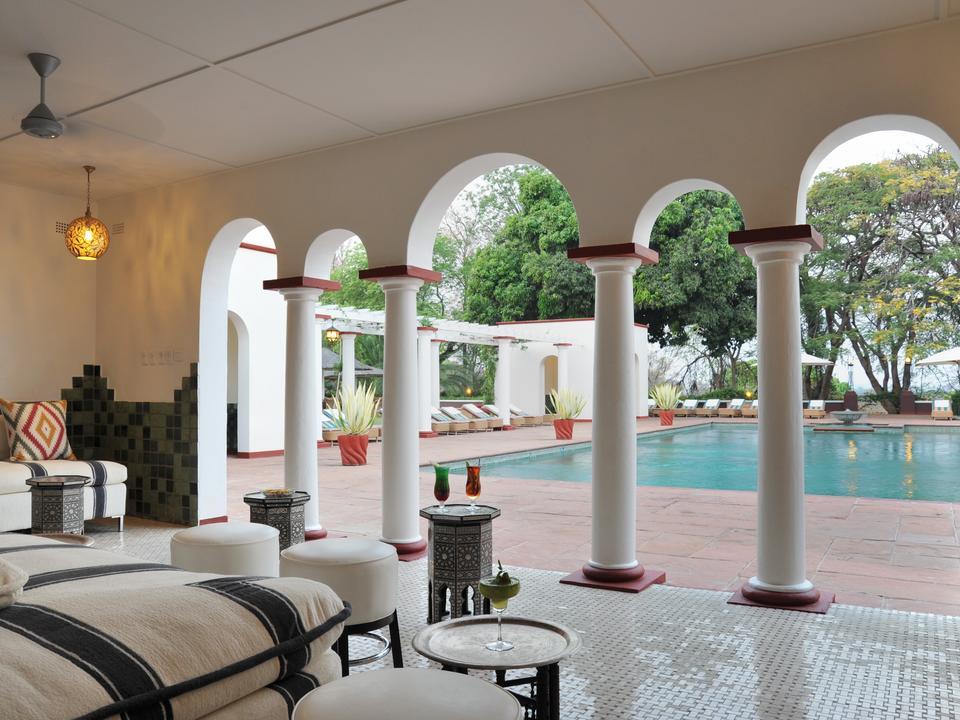Pool Pavillon