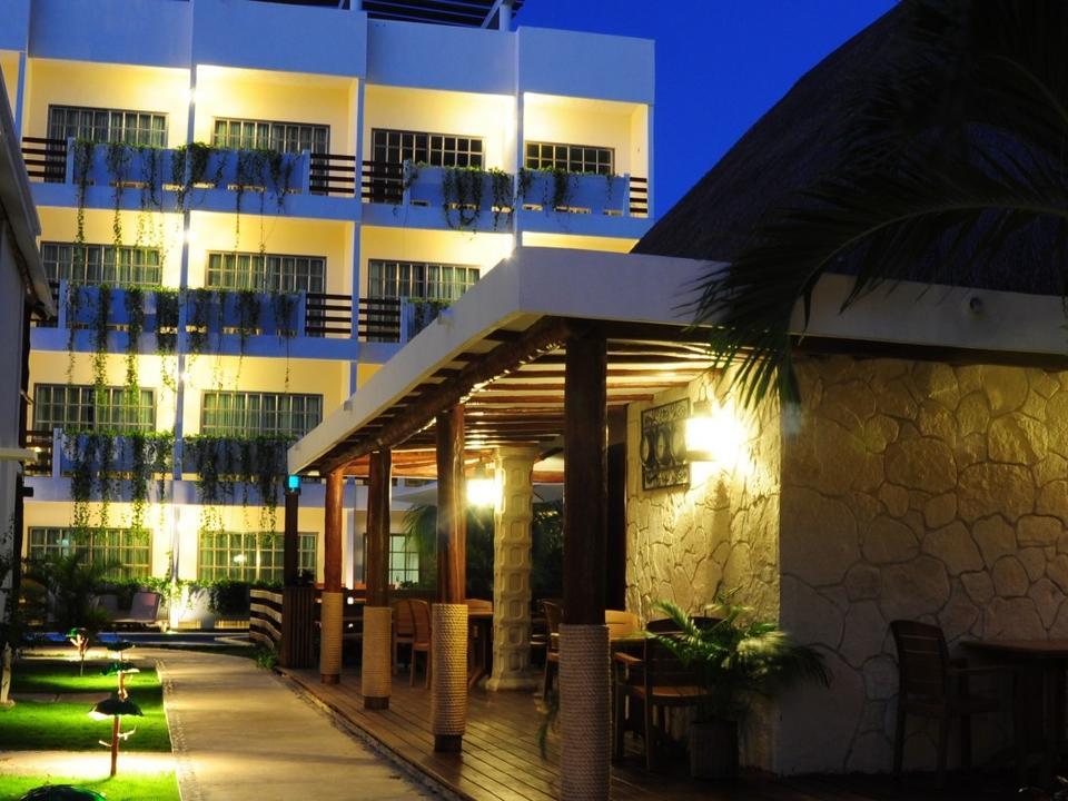 Mexiko Sian Kaan Posada Hotel Playa