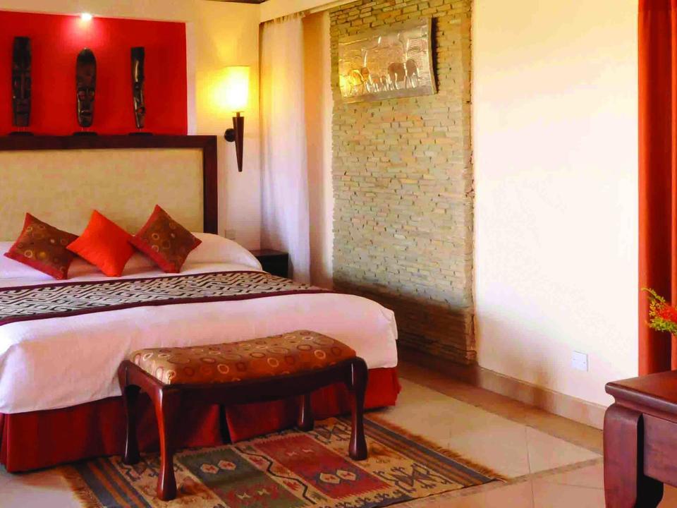 Doppelzimmer - Red Room