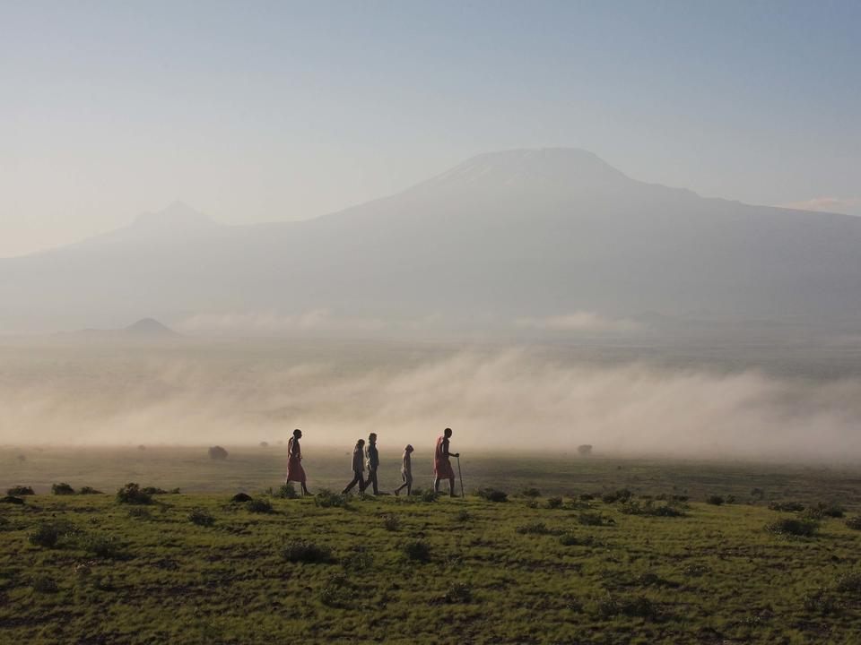 Buschwandern mit Maasai in Amboseli