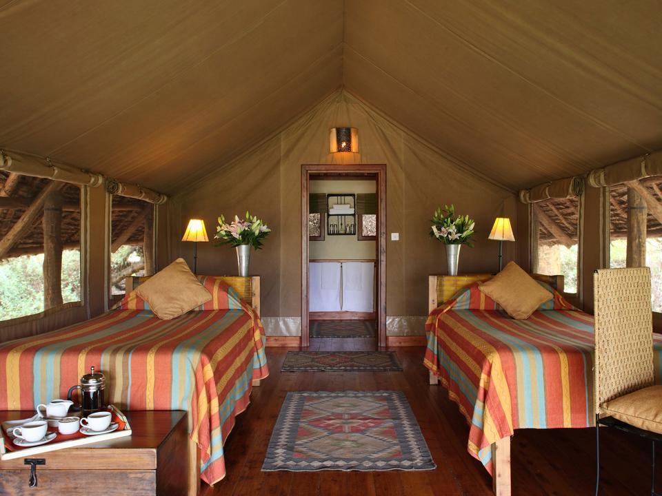 Zelt-Suite mit zwei Einzelbetten