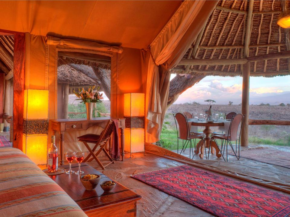 Familienhaus mit Blick auf Mein Kilimanjaro