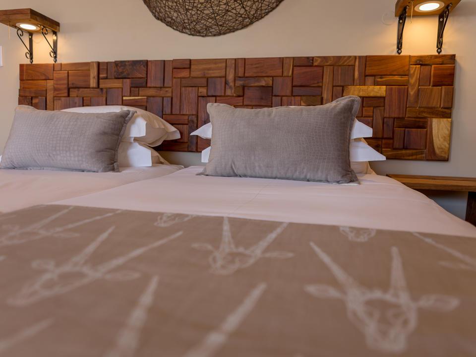 Standard Family Unit Schlafzimmer mit kompletter Klimaanlage und Kaffee-/Teekocher
