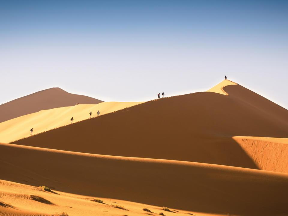 Große Dünenwanderung