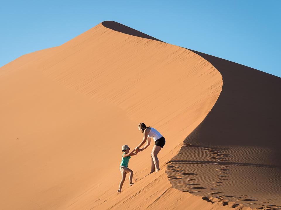 Familienfreundliches Abenteuer in Sossusvlei