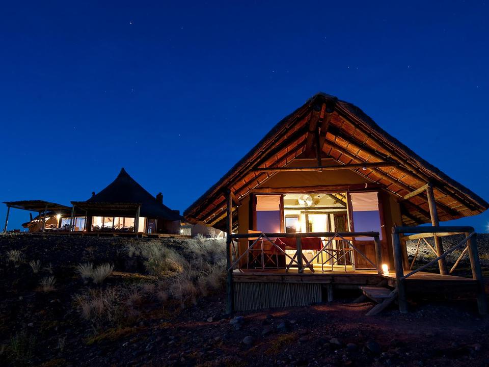 Kulala Desert Lodge Gästezimmer