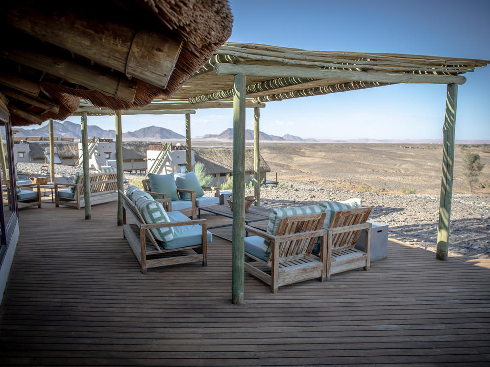 Entspannen Sie sich und genießen Sie die herrliche Aussicht auf die weitläutige Landschaft