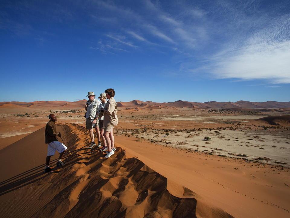 Die Kulala Desert Lodge verfügt über einen privaten Zugang zum nächsten Tor zum Sossusvlei, sodass Sie frühzeitig Zugang zu den Dünen haben.