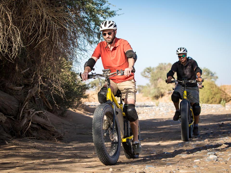 Bike-Touren durch das Naturschutzgebiet