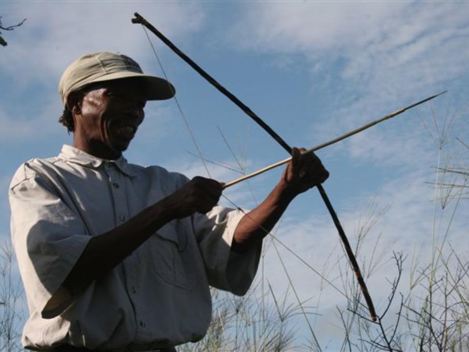 San Bushman Kulturspaziergang