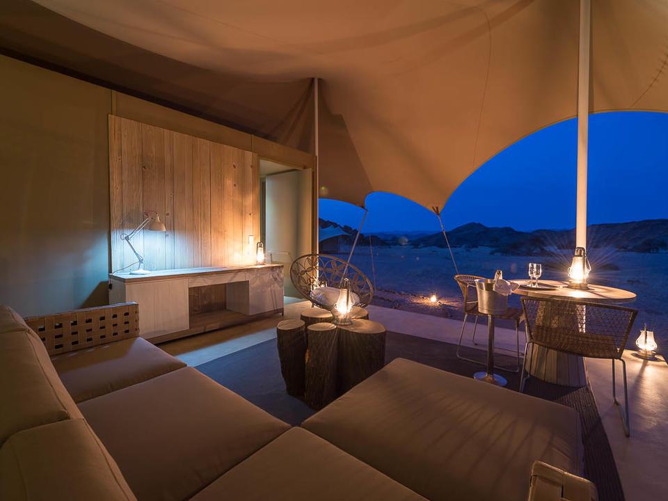 Gäste-Zelt-Deck