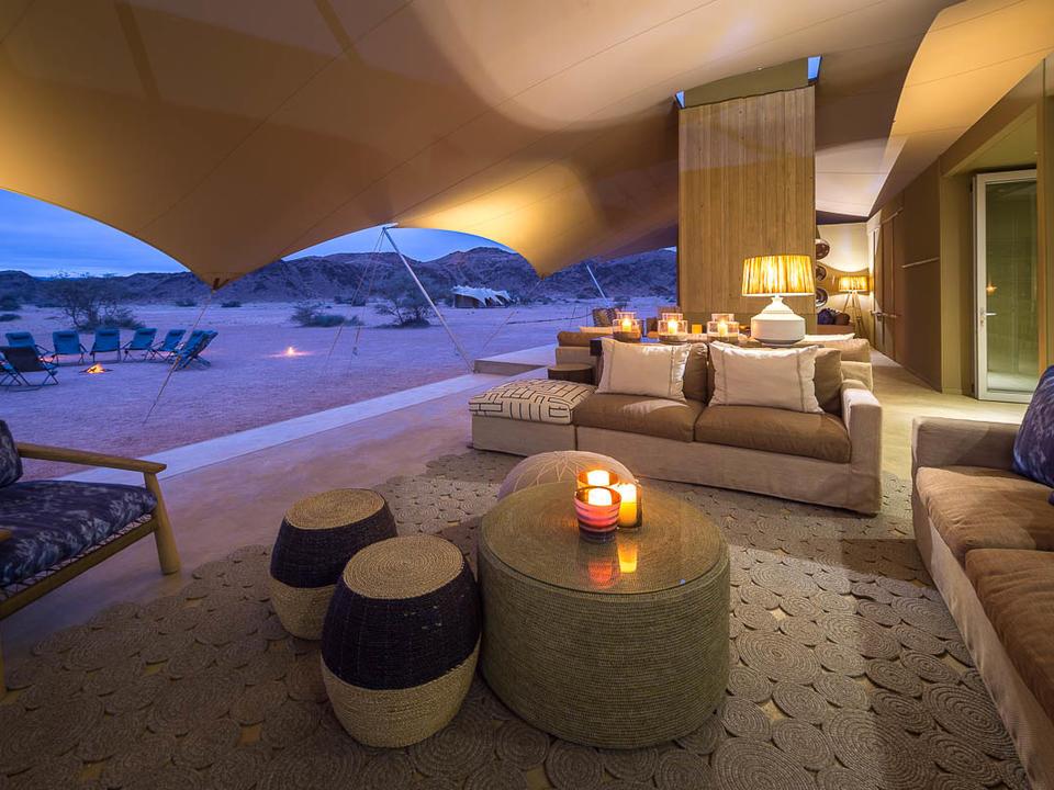 Hauptbereich Lounge