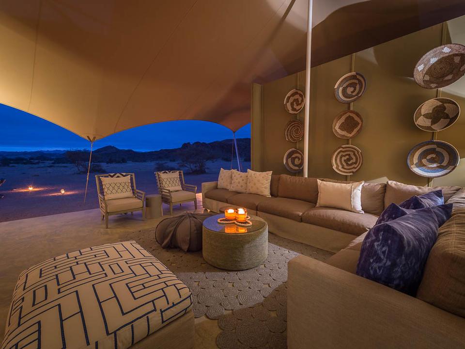 Hoanib Camp Lounge