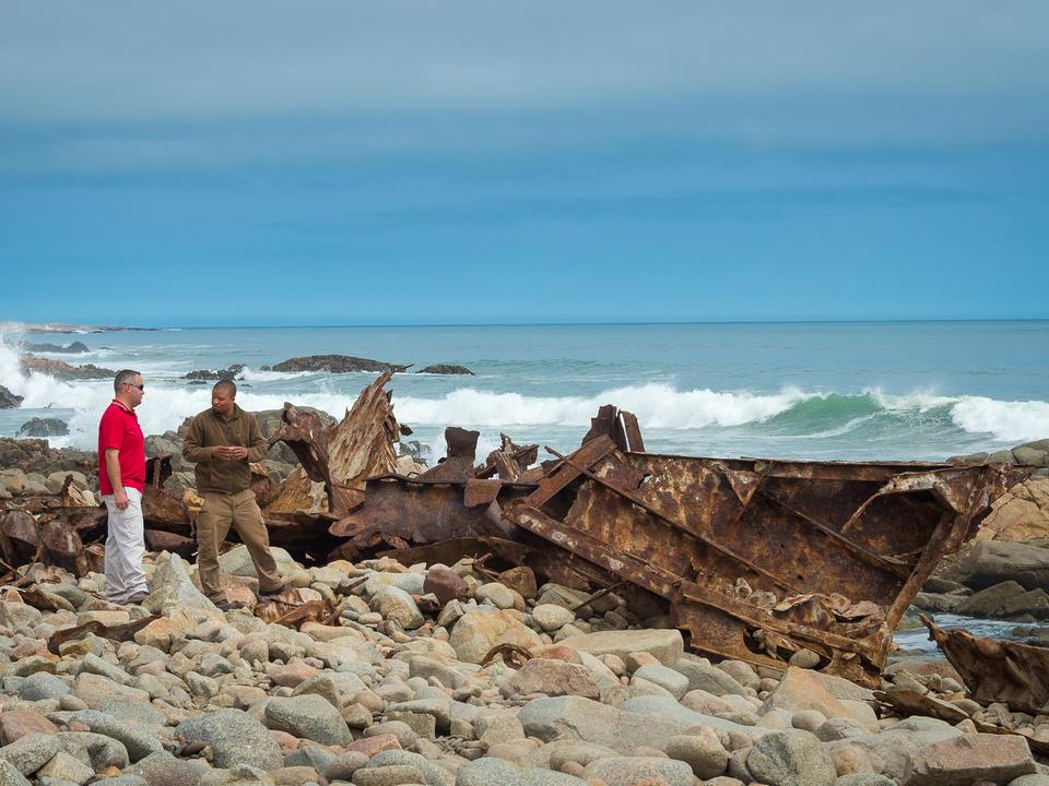 Strand bei Skeleton Coast - Mowe Bay