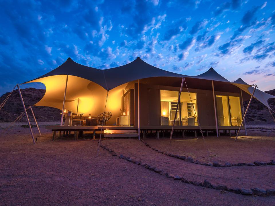 Hoanib Skeleton Coast Camp - Gästezelt