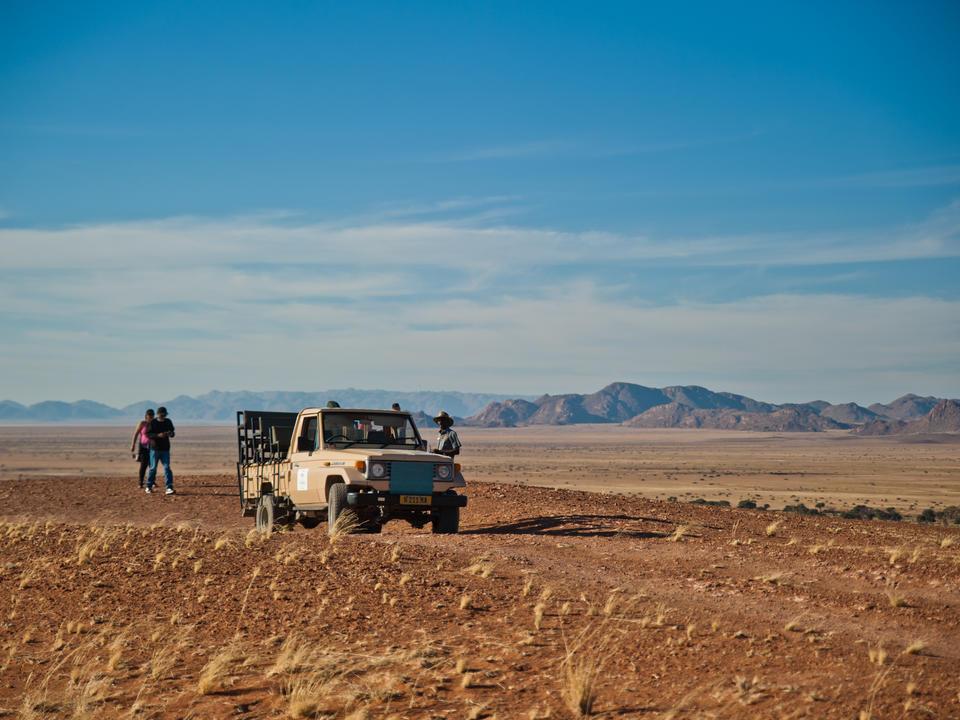 Aktivitäten im Gondwana Namib Park