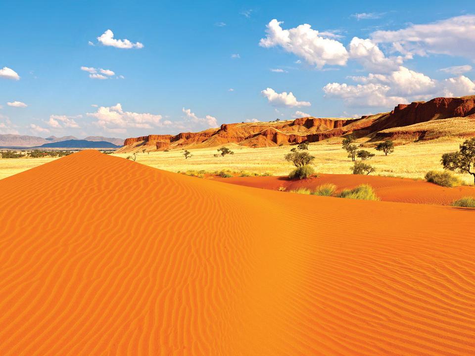 Die atemberaubenden Dünen im Gondwana Namib Park