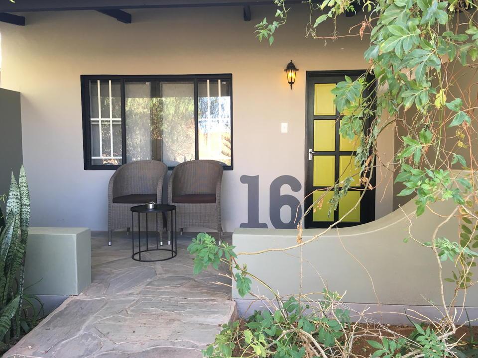 Gästezimmer in der Namib Desert Lodge