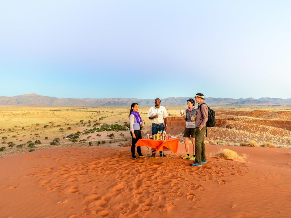 Ausflug in den Gondwana Namib Park