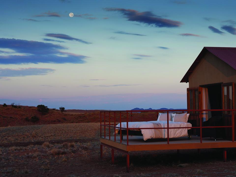 Freuen Sie sich auf eine Nacht unter dem traumhaften Sternenhimmel Namibias.