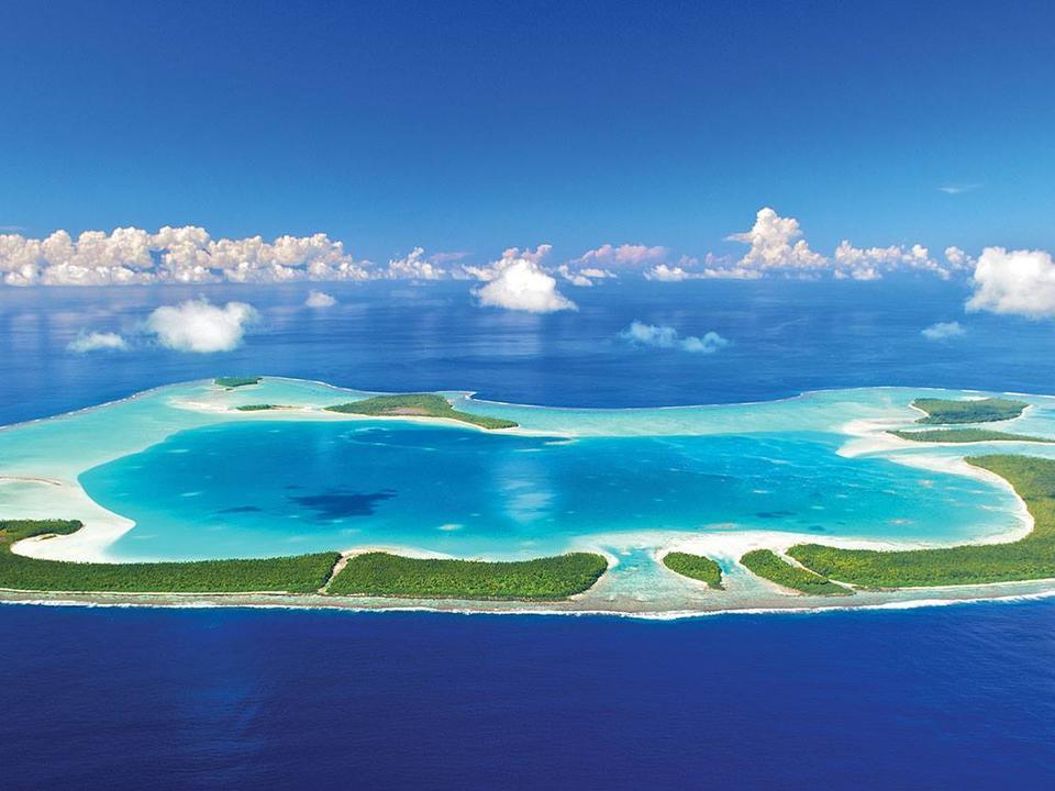 Tetiaroa privates Atoll