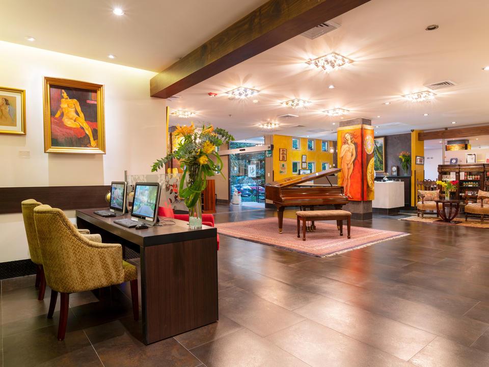 Lobby im Studiohotel