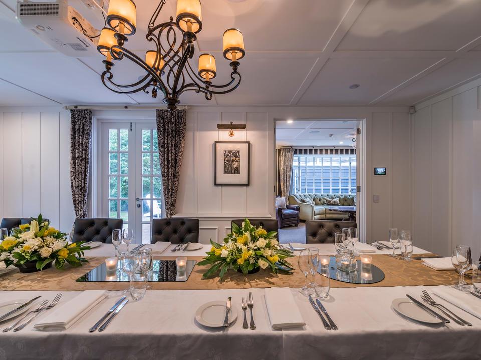 Der Speisesaal der Residenz