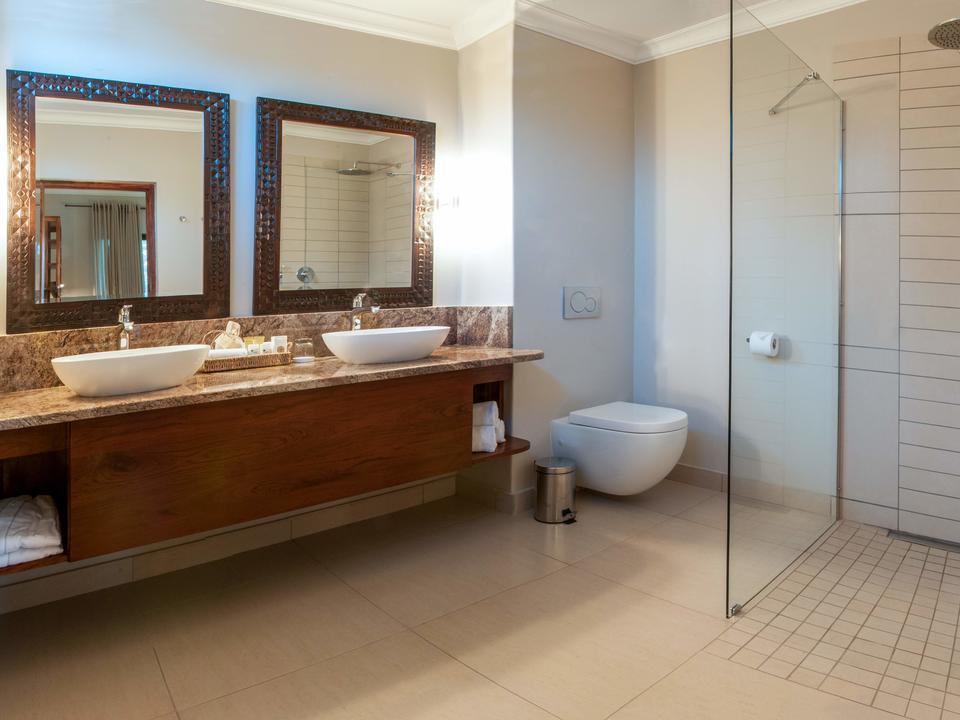 Deluxe Zimmer, Badezimmer