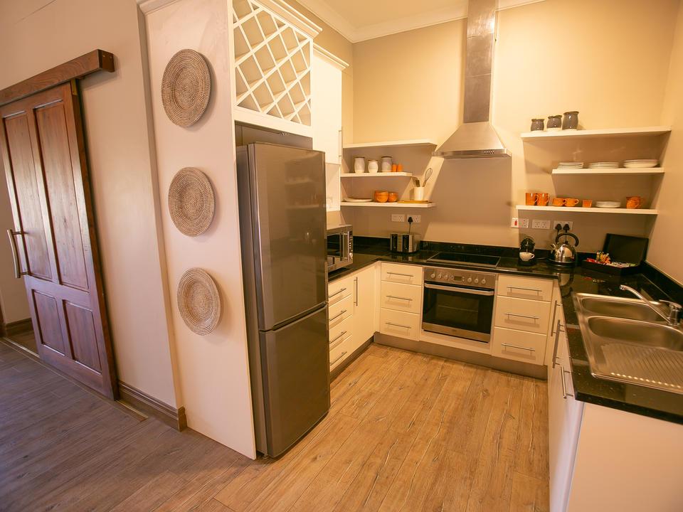 Strathearn Suite, Küche