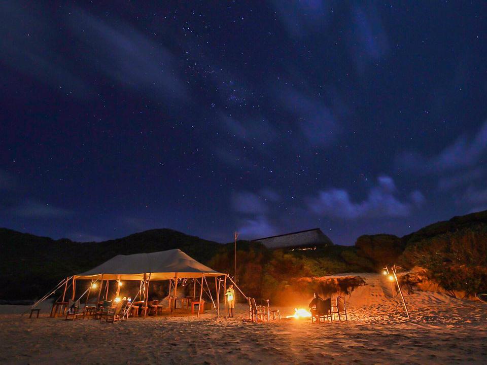 Beach Dining & Star Gazing