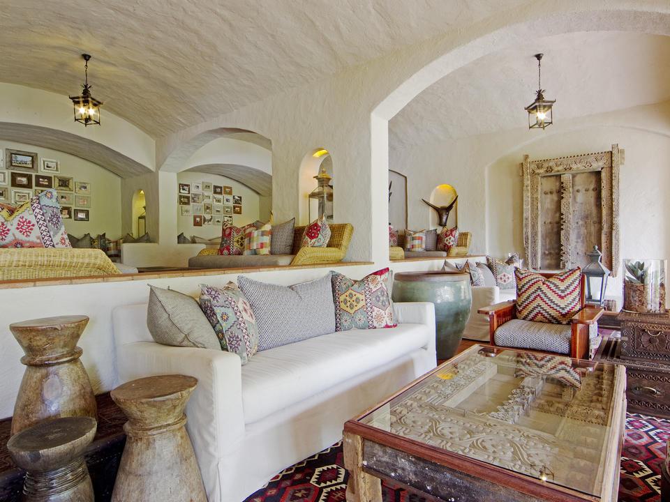 Wunderschön maurisches Dekor in den Lodges Innenräumen