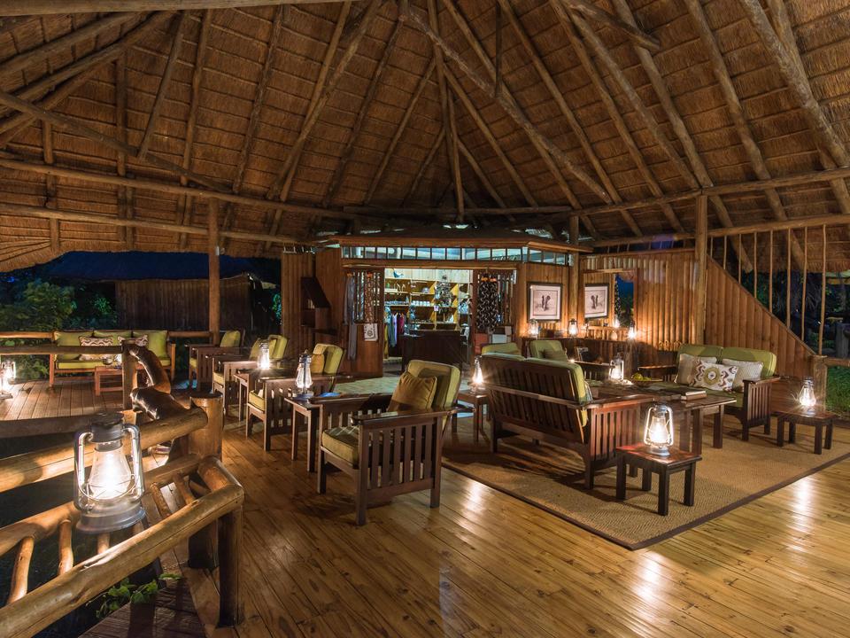Lounge am Abend