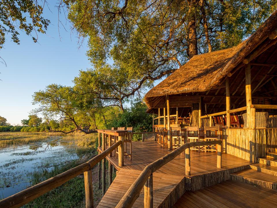 Das Savuti Camp befindet sich im privaten Linyanti Wildlife Reserve am Savuti Channel