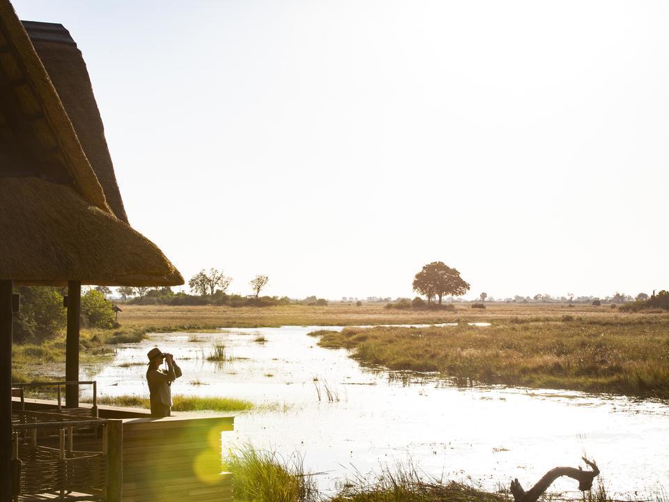 Namibia ist nur einen Steinwurf vom Linyanti entfernt