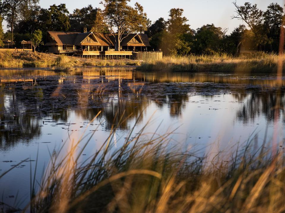 King's Pool mit Blick auf eine gleichnamige Ochsenbogen-Lagune